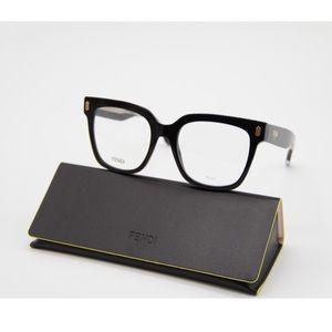 New FENDI Eyeglasses FF 0463 807 Black FF0463